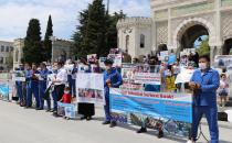 Uighurs calls on China to release their relatives imprisoned in concentration camps