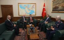 A Meeting Held Between the Delegations of Turkey and the U.S.