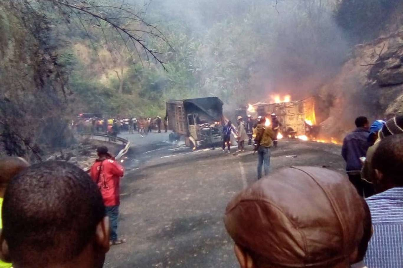 At least 53 people killed in Cameroon road accident
