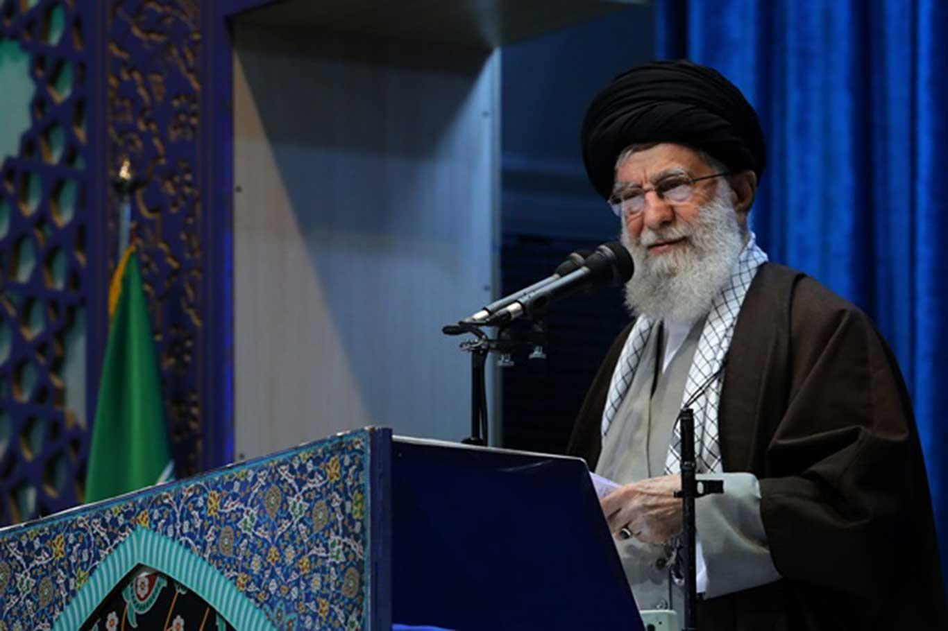 Khamenei: Iran's response was a major blow to America's fearsome superpower image