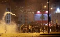 At least 46 people injured as police clash with protesters in Lebanon