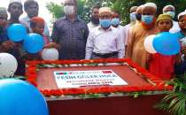An orphanage being built in memory of the late Fesih Güler in Bangladesh