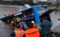 Bus crash in China: 21 dead, 15 injured