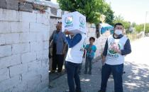 European Yetim Eli delivers food aid to hundreds of families in southeastern Turkey