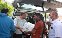 Hope Caravan delivers food aid to the families affected by earthquake in eastern Turkey