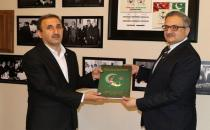 HÜDA PAR pays a visit to Pakistan's Embassy in Turkey