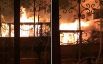 New images of the burnt Madrasah by PKK supporters are out