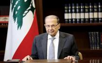 President Michel Aoun shows solidarity with the protesters