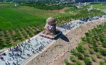 https://ilkha.com/english/files/news/thumb/Relocation of historical Zeynel Bey Shrine viewed from drone