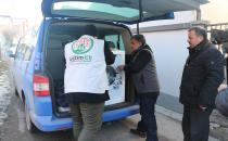 The European Yetim Eli distributes aids in the Balkans