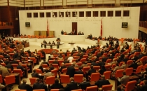 The Grand National Assembly of Turkey congregating extraordinarily