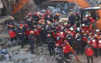 The last body trapped under the rubble recovered in Turkey's earthquake