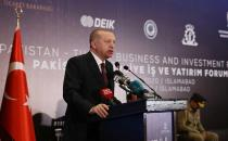 Turkey wants to raise its trade and economic ties with Pakistan, Erdoğan says