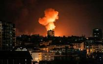 Zionist regime's airstrikes hit Gaza after midnight