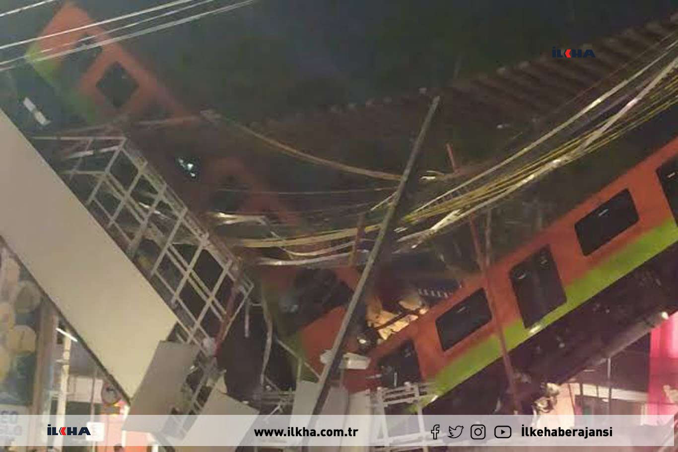 Death toll from Mexico City metro overpass collapse rise to 23